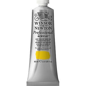 Winsor & Newton professionella akryl 60ml - 019 Azo gul Medium (S2)