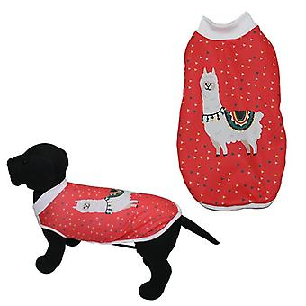 MI&DOG Abrigo Capa Felpado Llama T-25 (Dogs , Dog Clothes , Coats and capes)