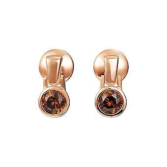 Joop vrouwen oorbellen zilver Rosé cubic zirconia Meryl JPER90301C000