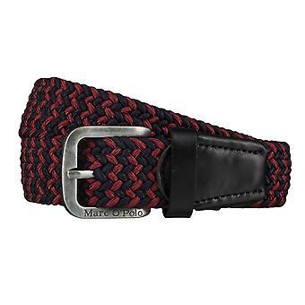 Correas O Marc ´ Polo cinturones de los hombres estiran cinturón negro 4367