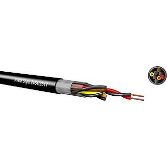 Kabeltronik LiYCY Control cable 4 x 0.09 mm² Black 097042809 Sold by the metre