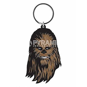 Llavero Flexible de Pvc de Chewbacca de Star Wars