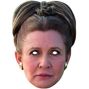 Princess Leia card mask STAR WARS cardboard mask Princess Carnival