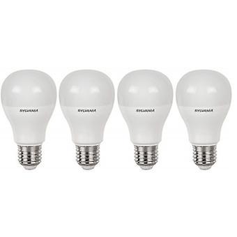 4 x Sylvania ToLEDo A60 E27 V4 9W Homelight LED 810lm [Energy Class A+]