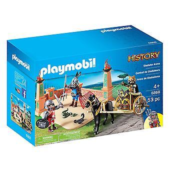 Playmobil historia Gladiator Arena 6868
