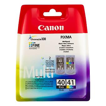 Canon Pixma Printer Ink PG40 CL41 black and colour ink cartridges