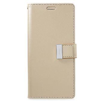 Mercury GOOSPERY Rich Diary to Samsung Galaxy S9 Plus Gold