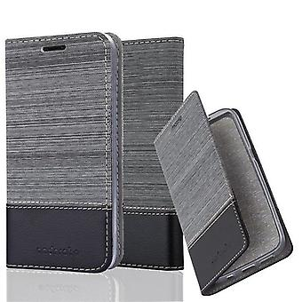 Cadorabo case for LG NEXUS 5 - mobile case with stand function and compartment in the fabric design - case cover sleeve pouch bag book