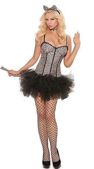 Waooh - Lingerie - Sexy Kostüm Leopard und Tüll