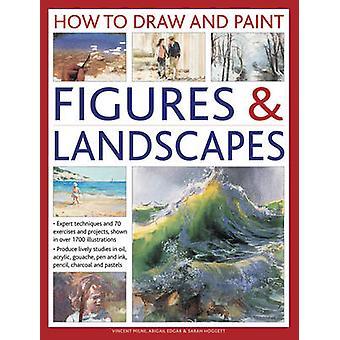 Hur man rita och måla siffror & landskap - Expert tekniker- och 7