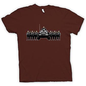 Womens T-shirt - Banksy Graffiti - Police State