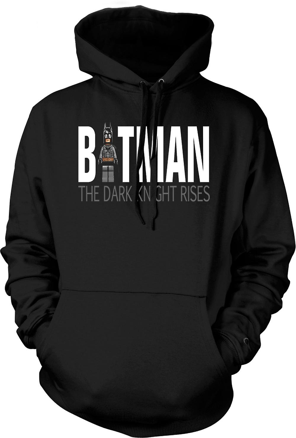 Mens Hoodie - Batman Lego - The Dark Knight Rises