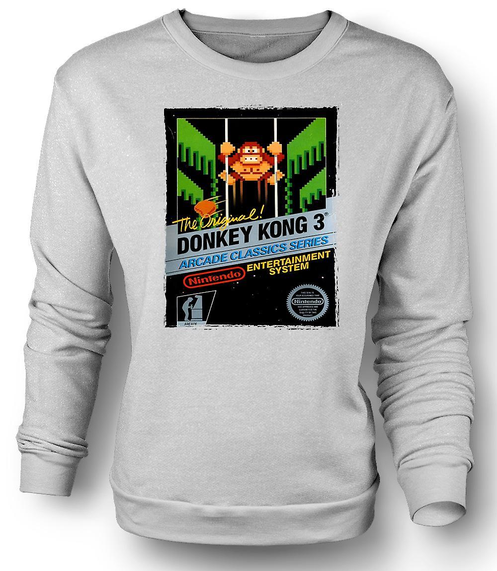Mens Sweatshirt Nintendo - Donkey Kong 3 Gamer