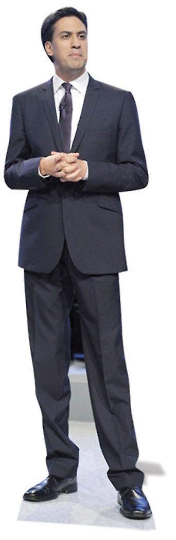 Ed Miliband Lifesize Cardboard Cutout / Standee