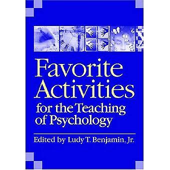 Favoriete activiteiten voor het onderwijs van de psychologie