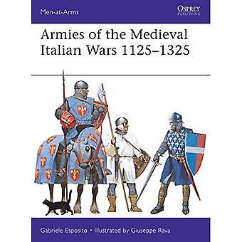 Armées des guerres d'Italie médiévales 1125-1325 (hommes d'armes)