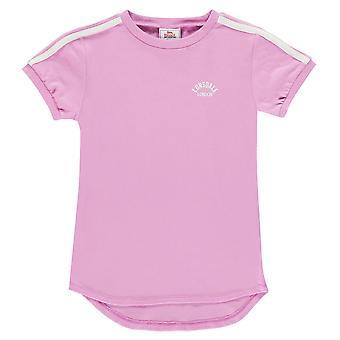 Lonsdale Kids Retro T Shirt Junior Girls