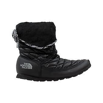 De North Face Thermoball Roll Down Bootie II 2 glanzend zwarte vrouwen CM88ZT1 maat 6 Medium