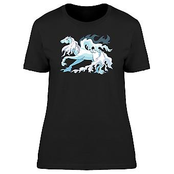 Pegasus With Wavy Mane Tee Women's -Image by Shutterstock