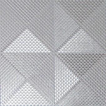 Silberfolie Diamond geometrischen Hintergrundbild Textured Vinyl Schimmer Arthouse Gianni