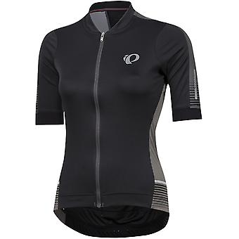 Pearl Izumi Black Diffuse Elite Pursuit Speed Womens Short Sleeved Cycling Jerse