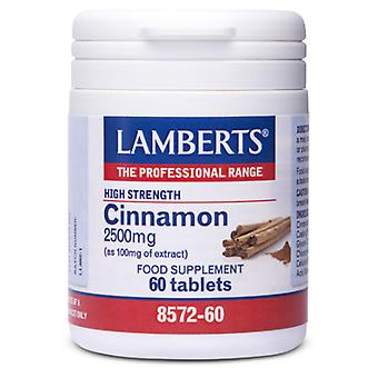Lamberts Cinnamon 2.500mg (Vitamins & supplements , Special supplements)