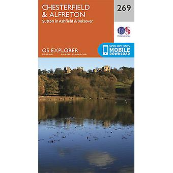 Chesterfield and Alfreton (September 2015 ed) by Ordnance Survey - 97