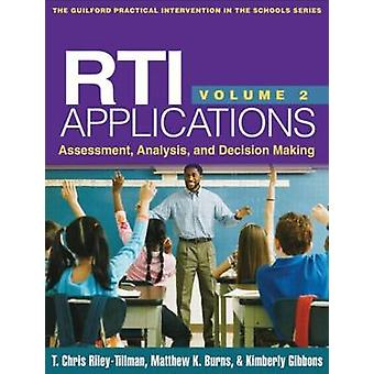 RTI Applications - Volume 2 - Assessment - Analysis - and Decision Mak
