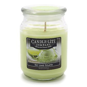 Candela profumata Candle-Lite in vetro fragranza Key Lime gelato 510 g 10x10x 14.5 cm