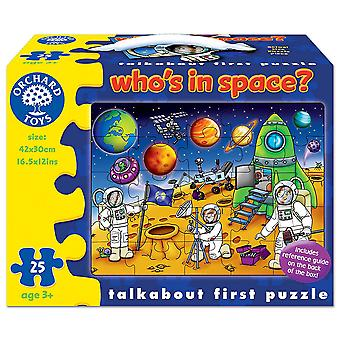 Orchard Toys 25 Piece Jigsaw Who's in Space?