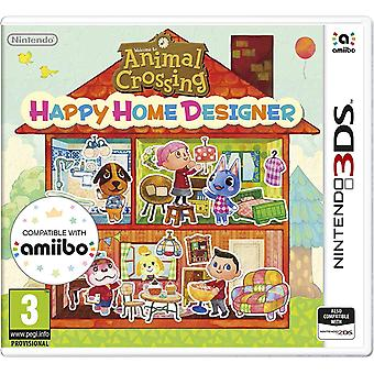 Animal Crossing Happy Home Designer 3DS spel (bundel kopie)