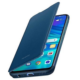 Huawei P Smart Case 2019/Honor 10 Lite Flip Case Card Holder-Night Blue