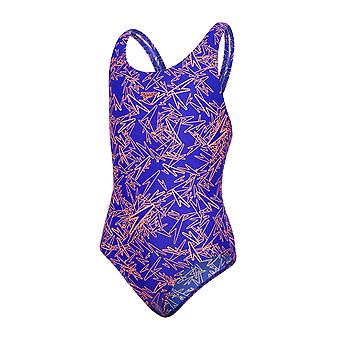 Speedo Boom Allover Splashback Swimwear For Girls