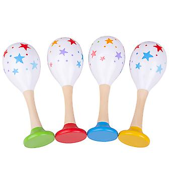 Bigjigs Toys Wooden Maraca - Children's Wood Instruments