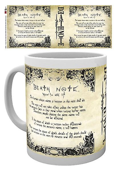 Potable Death Règles Tasse Coffret Note xthCsQrd