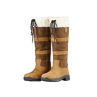 Dublin Eskimo II dames waterdichte laarzen-donker bruin