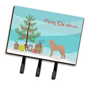 Carolines Treasures  CK3485TH68 Shar Pei Christmas Tree Leash or Key Holder