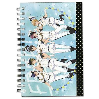 Notebook - Free! - New Group Navy Hardcover Anime Licensed ge43512