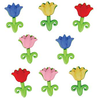 Dress It Up Embellishments Easter Tulips Diubttn 5299