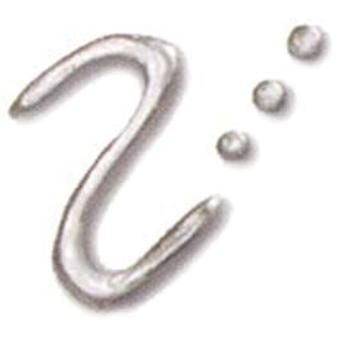 Fashion Dimensional Fabric Paint 1.1 Ounce Metallic Sterling Silver Ff 25254
