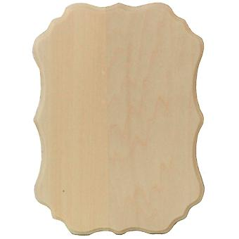 Basswood Thin Plaque 5