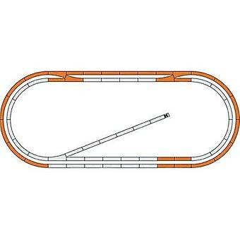 H0 Roco GeoLine (incl. track bed) 51250 Expansion set