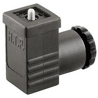 Hirschmann 933 138-100 GDS 207 Cable Socket, Freely Configurable Black Number of pins:2 + PE