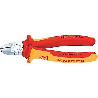 VDE Side cutter non-flush type 160 mm Knipex 70 06 160