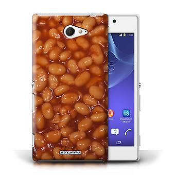 STUFF4 Case/Cover for Sony Xperia M2/Baked Beans/Food