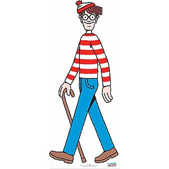 Where's Wally? / Waldo? Ritaglio di cartone LifeSize / Standee / Stand Up