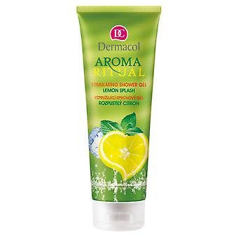 Dermacol  Aroma Ritual Stimulating Shower Gel Lemon Splash