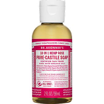 Dr Bronner 18-in-1 Hemp Rose Pure-Castile Soap