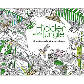 Lark Books-Hidden In The Jungle Notecards W/ Env LB-09466