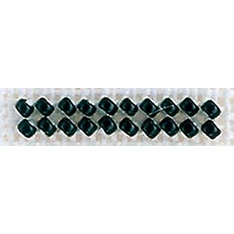 Mill Hill Petite Glass Seed Beads 2mm 1.6g-Black PGBD-42014